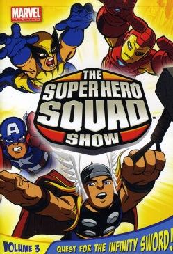 The Super Hero Squad Show: Quest For The Infinity Sword Vol 3 (DVD)