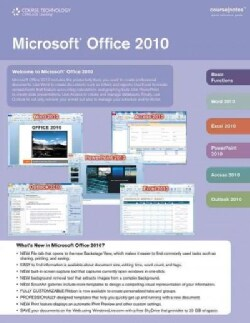 Microsoft Office 2010 Coursenotes (Cards)