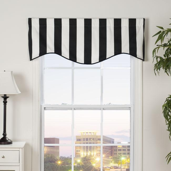 Midtown Shaped Valance 13295889 Overstock Com Shopping