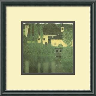 Gustav Klimt 'Schloss Unterach on the Attersee' Framed Art Print
