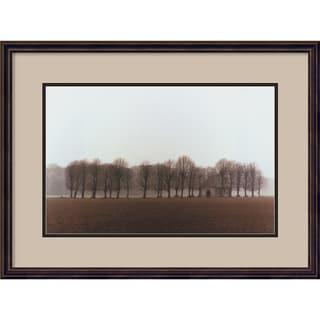 Alan Klug 'Vallee de la Somme, France' Framed Art Print