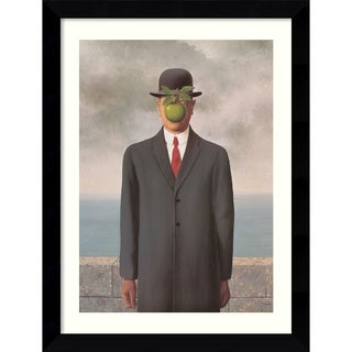Rene Magritte 'The Son of Man' Framed Art Print