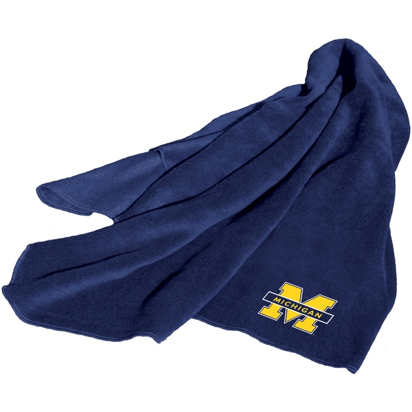 Michigan 'Wolverines' Fleece Throw