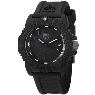 Luminox Unisex 'Colormark' Blackout Watch