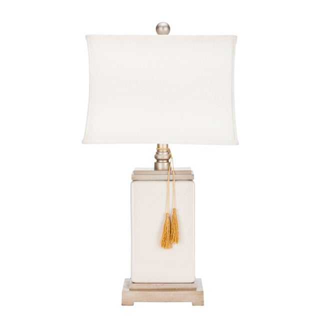 Safavieh Indoor 1-light Porcelain White Table Lamp