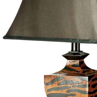 Safavieh Lighting 32.5-inches Zebra Table Lamps (Set of 2)