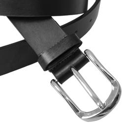 Boston Traveler London Men's Cowhide Leather Belt
