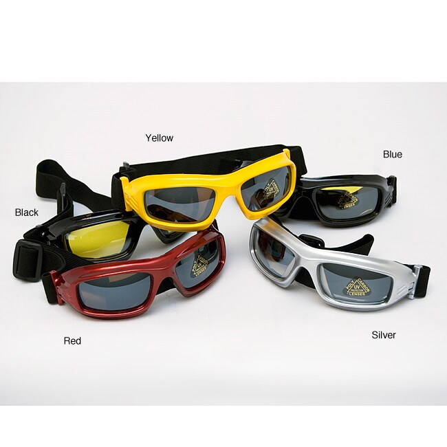 Sun and Snow Polyurethane-framed Goggles with Polycarbon Lenses