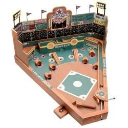 University Games Front Porch Tabletop Wooden Pin-ball Baseball Game