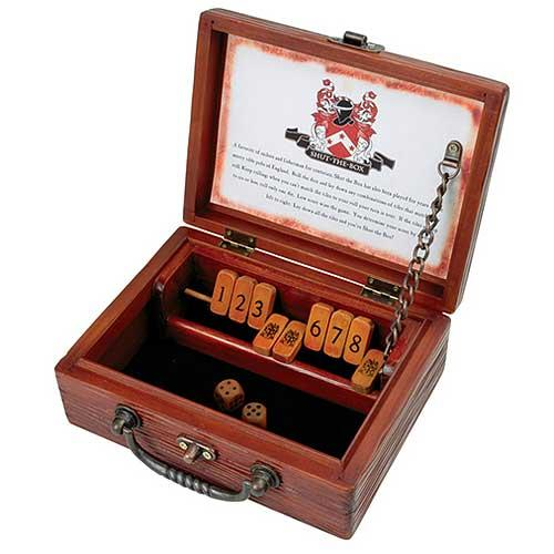 Circa Shut-the-box Old Fashion Dice Game