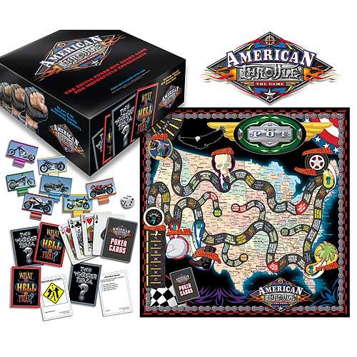 American Throttle Board Game