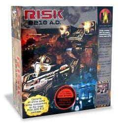 Risk 2210 AD Board Game