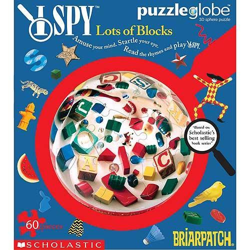 I Spy Puzzleglobe Lots of Blocks Puzzle