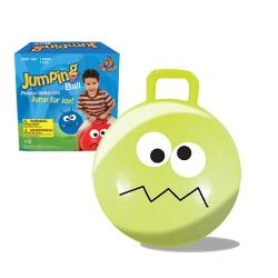 Lime Green 18-inch Jumping Ball