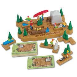 Crazy Campers Brainteaser Puzzle