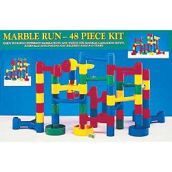 Plastic 48-piece Marble Run Kit