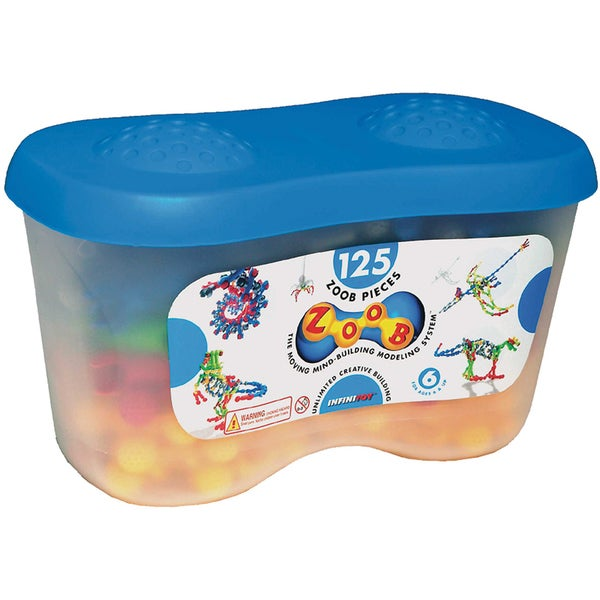 ZOOB 125-piece Building Set Tub