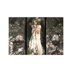 Guardian Angel Triptych, Victoria Frances 1500-piece Puzzle