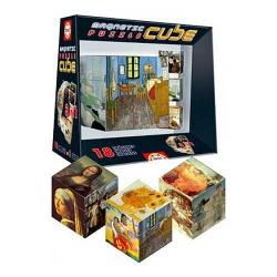 Magnetic Works of Art Puzzle Cube