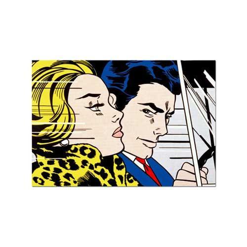 'In the Car' Roy Lichtenstein 1000-piece Puzzle
