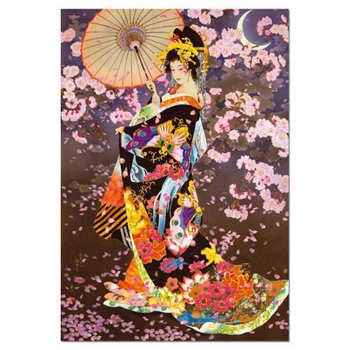 Haruyo Morita 'Yazakura' 1500-piece Puzzle