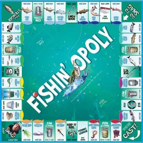 Fishin'-opoly Game