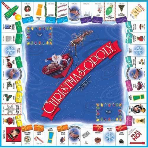 Christmas-opoly Game