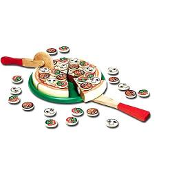 Melissa & Doug Pizza Party Play Food Set