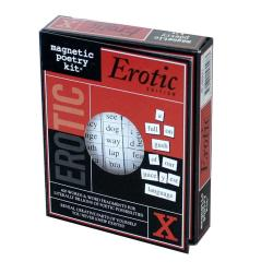 Magnetic Erotic Poetry Kit