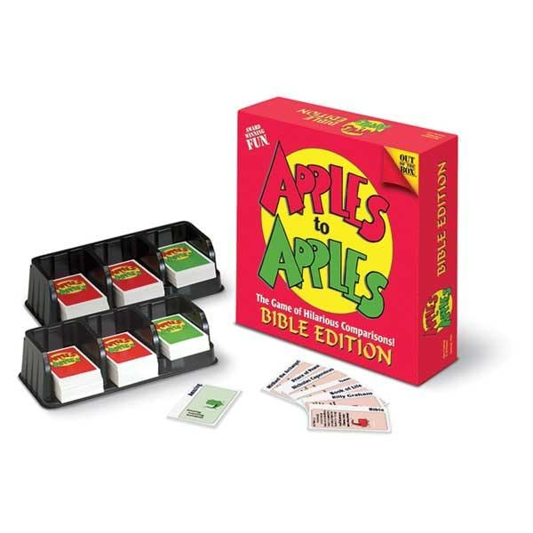 Talicor Apples to Apples Christian-themed Board Game: Bible Edition