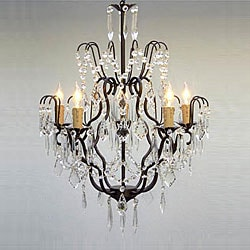 Regent 5-light Iron Chandelier