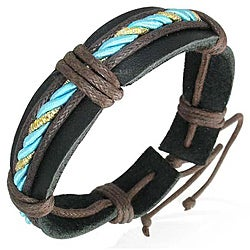 Genuine Leather Weave Bracelet