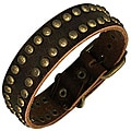 Leather Studded 'Soleil' Bracelet