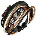 Leather and Stone 'Harmony Beads' Bracelet