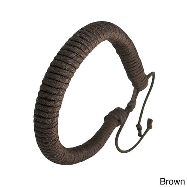 Genuine Leather 'Protection' Bracelet