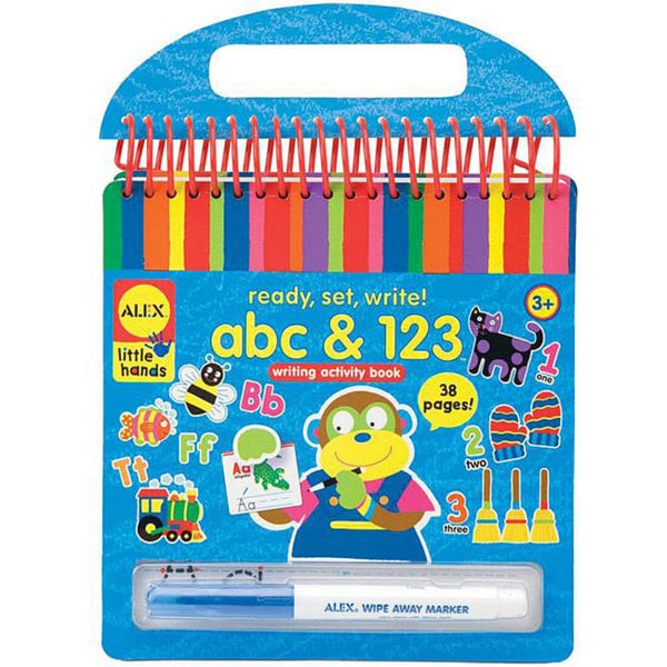 Alex Toys Ready, Set, Write! ABC & 123 Writing Activity Book