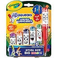 Crayola Pip-Squeaks Washable Writers (Pack of 6)