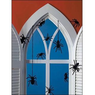 Martha Stewart EK Success Spider Silhouettes (Pack of 12)