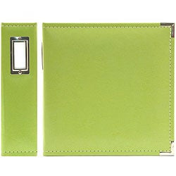 We R Memory Keepers Kiwi Green Classic Faux Leather Ring Binder