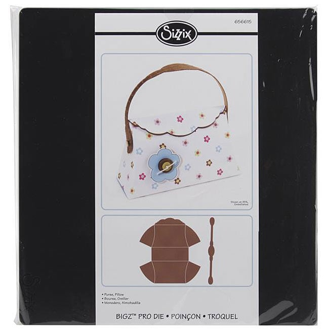 Ellison Sizzix Bigz Pillow Purse Big Shot Pro Die at Sears.com