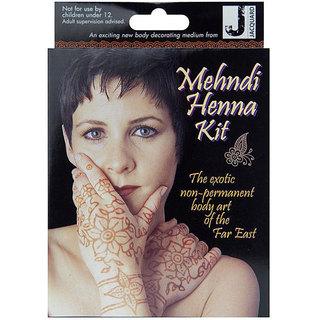 Jacquard Mehndi Henna Temporary Body Art Kit