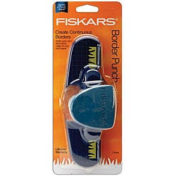 Fiskars Continuous Grass Border Plastic Scrapbooking/Papercrafts Punch
