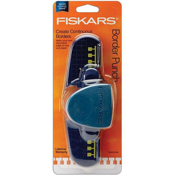 Fiskars Notebook Boarder Punch