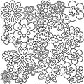 Crafter's Workshop 12x12 Flower Template