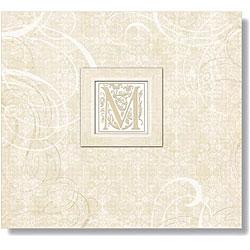 Lilo Postbound Album 12 X12 - Wedding Elegant Scrolls