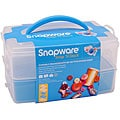 Snapware Snap 'n Stack Medium 2-layer Craft Organizer