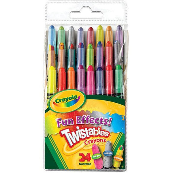 Crayola Twistables Fun Effects Crayons