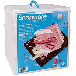 Snapware Snap 'n Stack Large 3-layered Craft Organizer