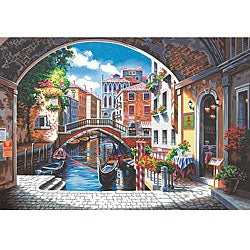 Paint Works 'Archway to Venice' 20x14-inch Paint by Number Kit