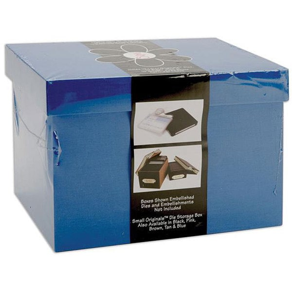 Sizzix Large Periwinkle Blue Die-cut Storage Box